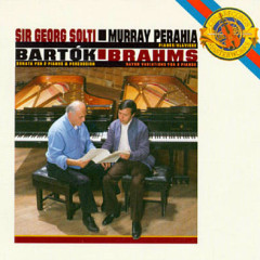 Works For Two Pianos By Bartok And Brahms - Murray Perahia,Sir Georg Solti