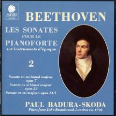 Beethoven - Les Sonates Pour Le Pianoforte Sur Instruments D'epoque CD 2