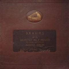 Piano Quintet In F Minor, Op. 34 - Rudolf Serkin, Busch Quartet