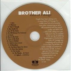 Rites of Passage (CD2) - Brother Ali