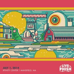 2014-07-01 Xfinity Center, Mansfield, MA (CD1)