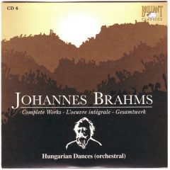 Johannes Brahms Edition: Complete Works (CD6)