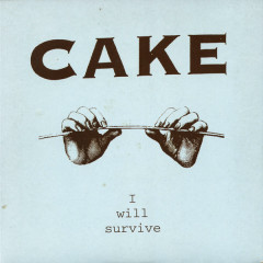 I Will Survive UK 7 Version - Cake