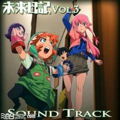 Mirai Nikki Blu-ray Vol.3 Soundtrack CD - Katou Tatsuya