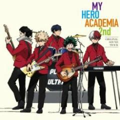 Boku no Hero Academia 2nd Original Soundtrack CD2 - Yuki Hayashi
