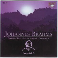 Johannes Brahms Edition: Complete Works (CD47)