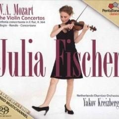 Mozart - Symphonia Concertante - Pentatone Gold 2007 - Julia Fischer,Gordan Nikolic