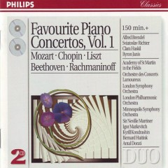 Favourite Piano Concertos CD1