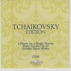 Tchaikovsky Edition CD 30