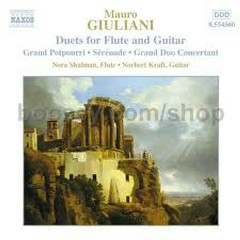 Mauro Giuliani - Duets For Flute And Guitar - Norbert Kraft
