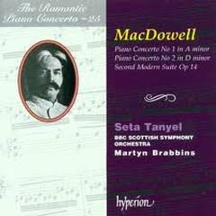 The Romantic Piano Concerto, Vol. 25 – MacDowell - Seta Tanyel,BBC Scottish Symphony Orchestra,Martyn Brabbins