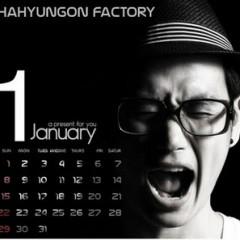 Happy Calendar January