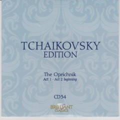 Tchaikovsky Edition CD 34 (No. 2)