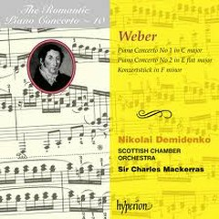The Romantic Piano Concerto, Vol. 10 – Weber