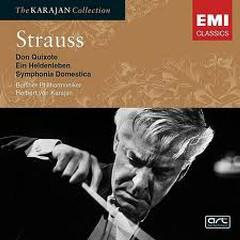 Richard Strauss - Don Quixote, Ein Heldenleben, Symphonia Domestica CD2