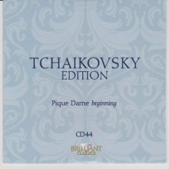 Tchaikovsky Edition CD 44
