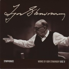 Works Of Igor Stravinsky Disc 9