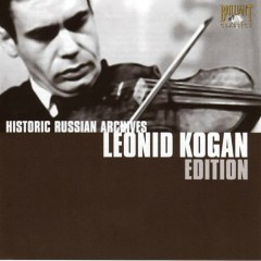 Historic Russian Archives (CD 10) - Leonid Kogan