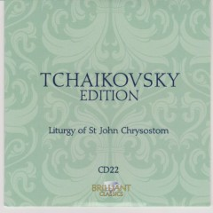Tchaikovsky Edition CD 22