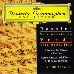 Rossini  Verdi  6 Overtures   3 Preludes