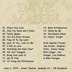 Berkeley CA - Dave Mason