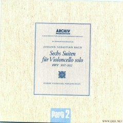 Bach, Cellosuiten BWV 1007 1012 CD2