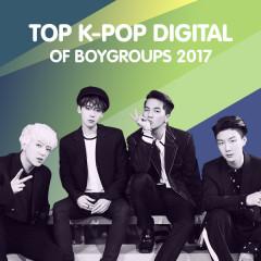 Top K-Pop Digital Of Boygroups 2017