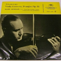 Tschaikowsky, Violinkonzert op. 35 / Wieniawski, 3 Etudes-Caprices / Sarasate, Navarra op. 33 - David Oistrach