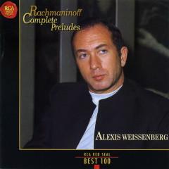 Rachmaninoff Complete Preludes No.2 - Alexis Weissenberg
