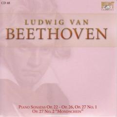 Complete Works CD 048 Piano Sonatas Op.22   Op.26, Op.27 No.1, Op.27 No.2  Mondschein
