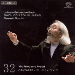 Bach - Cantatas Vol 32 CD1