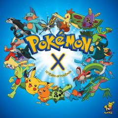 Pokemon X (10 Years Of Pokemon) - Various Artists