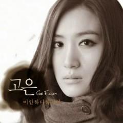 Mianhada Hajima / 미안하다 하지마   - Go Eun