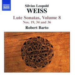 Weiss - Lute Sonatas Vol. 8 (CD1)