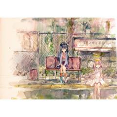 Haiiro Shoujo to Kodoku no Kaibutsu