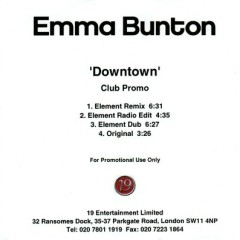 Downtown (Club Promo) - Emma Bunton