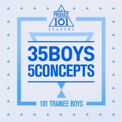 PRODUCE 101 – 35 Boys 5 Concepts (Mini Album) - PRODUCE 101