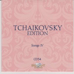 Tchaikovsky Edition CD 54 (No. 1)