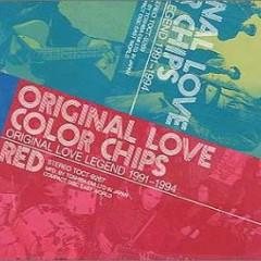 Color Chips - Original Love Legend 1991-1994 - Orange