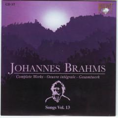 Johannes Brahms Edition: Complete Works (CD57)