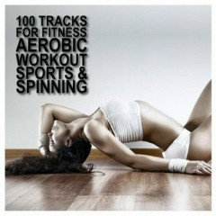 100 Tracks For Fitness Aerobic Workout Sports & Spinning CD10