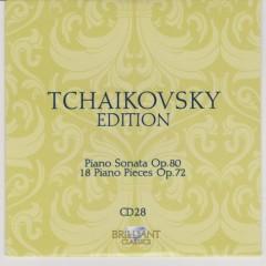Tchaikovsky Edition CD 28 (No. 1)