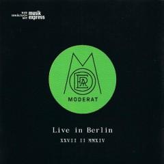 Live In Berlin: XXVII II MMXIV - Moderat