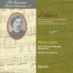 The Romantic Piano Concerto, Vol. 09 – d'Albert - Piers Lane,BBC Scottish Symphony Orchestra,Alun Francis