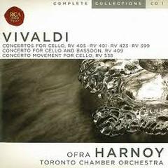 Vivald Complete Cello Concertos CD2 No. 1 - Ofra Harnoy,Toronto Chamber Orchestra