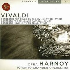 Vivald Complete Cello Concertos CD4 - Ofra Harnoy,Toronto Chamber Orchestra