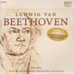 Complete Works CD 091   Piano Sonatas Op.13, 27, 57  Yves NAT