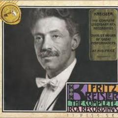 Fritz Kreisler The Complete RCA Recordings CD7 No.1