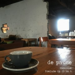 Jazz, Coffee + Longing (Part.II) - De Pause