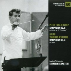 Peter Ilyich Tchaikovsky – Symphony No 6, Ralph Vaughan Williams – Symphony No 4 - Leonard Bernstein,New York Philharmonic